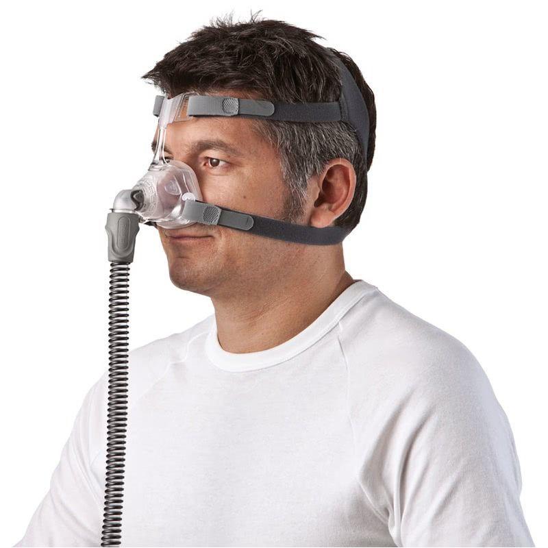 KIT CPAP DreamStar Intro + Umidificador + Máscara Nasal Mirage FX