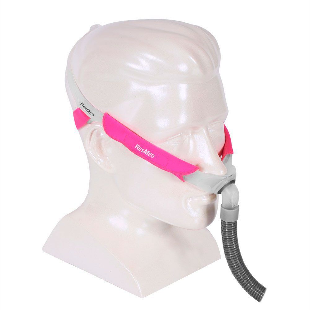 KIT CPAP DreamStar Intro + Umidificador + Máscara Nasal Swift FX For Her