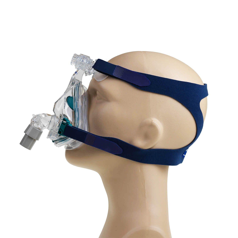 KIT CPAP DreamStar Intro + Umidificador + Máscara Oronasal Mirage Quattro