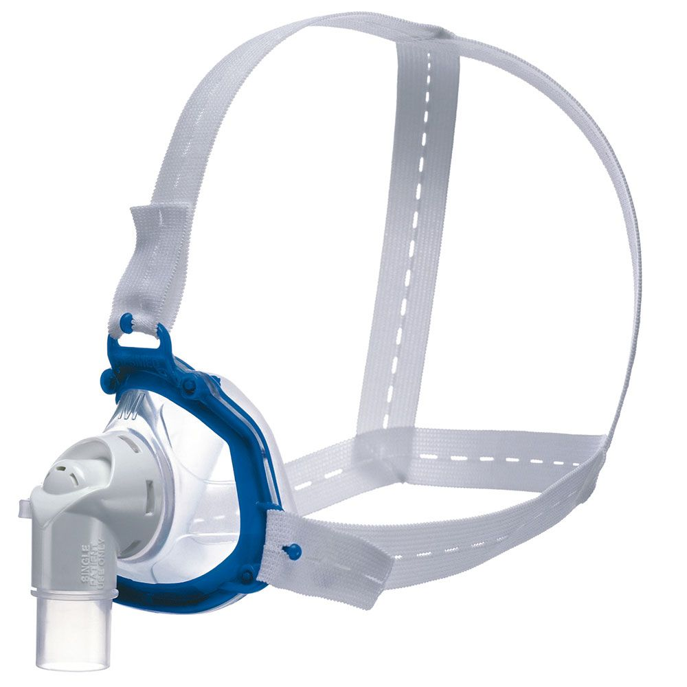 Kit CPAP Fixo AirSense 10 Elite + Umidificador + Máscara Nasal Hospitalar/Domiciliar Ventilada