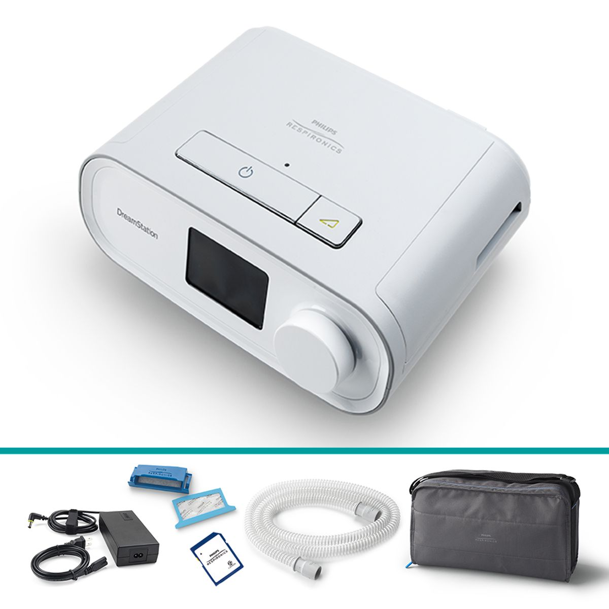 Kit CPAP Fixo DreamStation com Umidificador Philips Respironics
