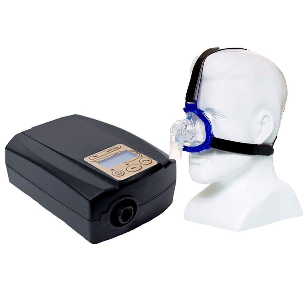 Kit CPAP Fixo Ecostar Sefam + Máscara Nasal Meridian