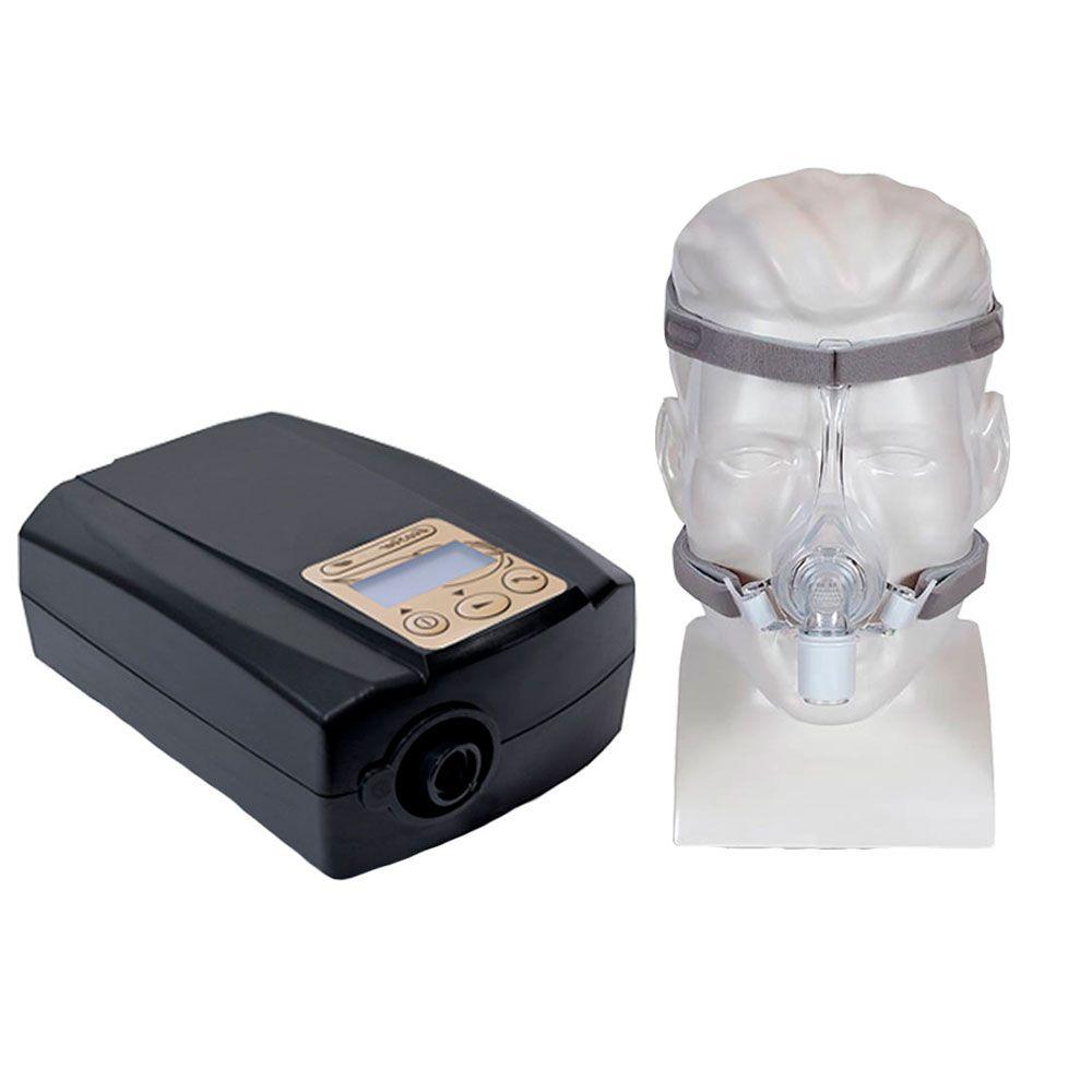 Kit CPAP Fixo Ecostar Sefam + Máscara Nasal Pico Philips Respironics