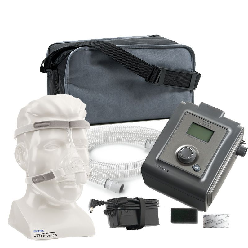 Kit CPAP PRO System One REMstar + Máscara Nasal Pico Philips Respironics