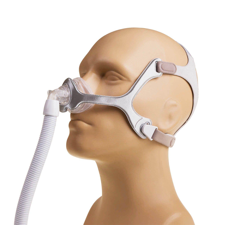 Kit CPAP Auto S10 + Umidificador + Máscara Nasal Wisp Tecido