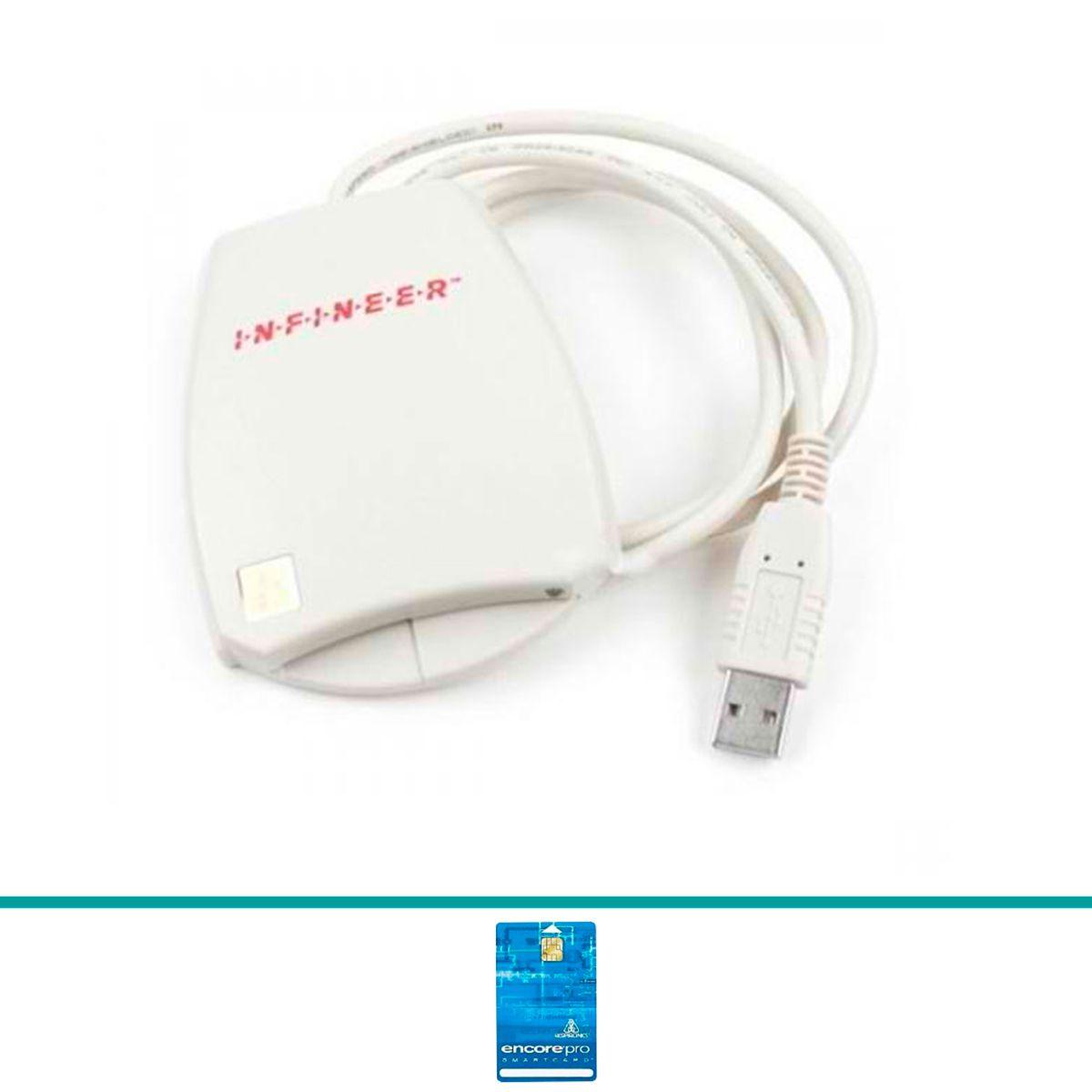 Leitor de Cartão Smartcard EncorePro USB Respironics