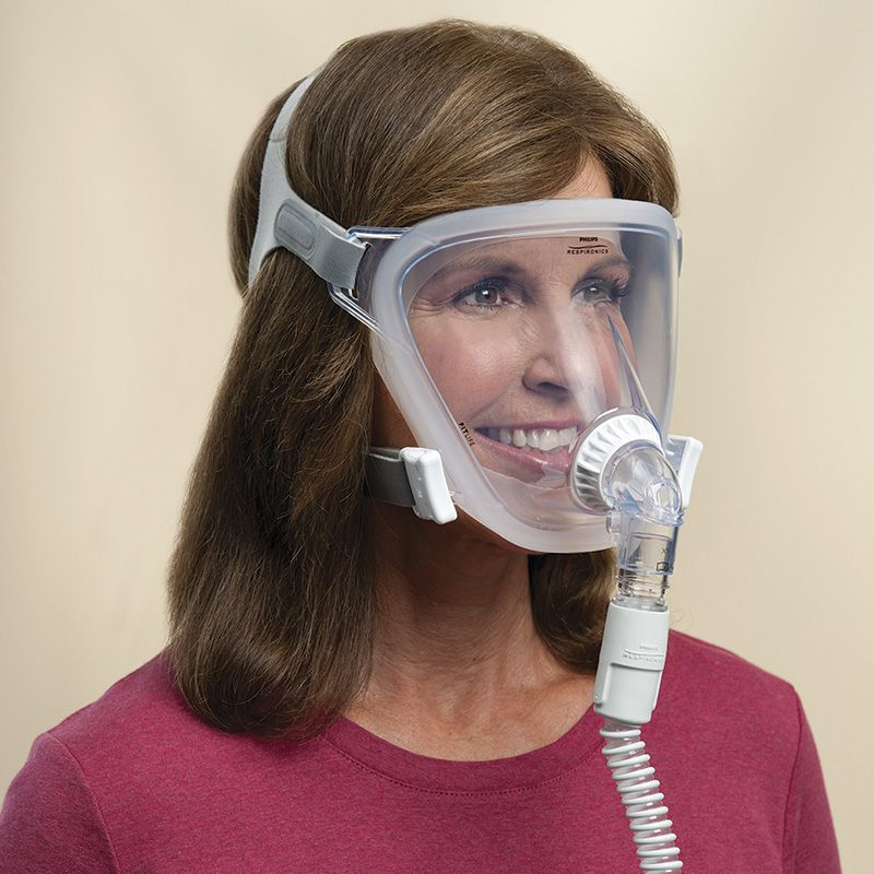 Máscara Facial Total FitLife Philips Respironics