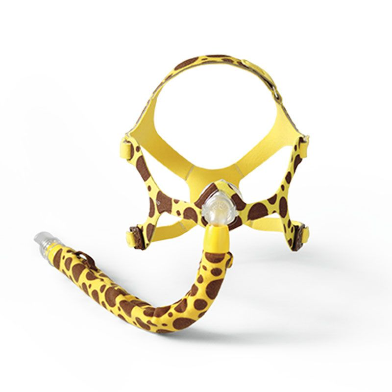 Máscara Nasal Wisp Pediátrica Design Girafa Philips Respironics