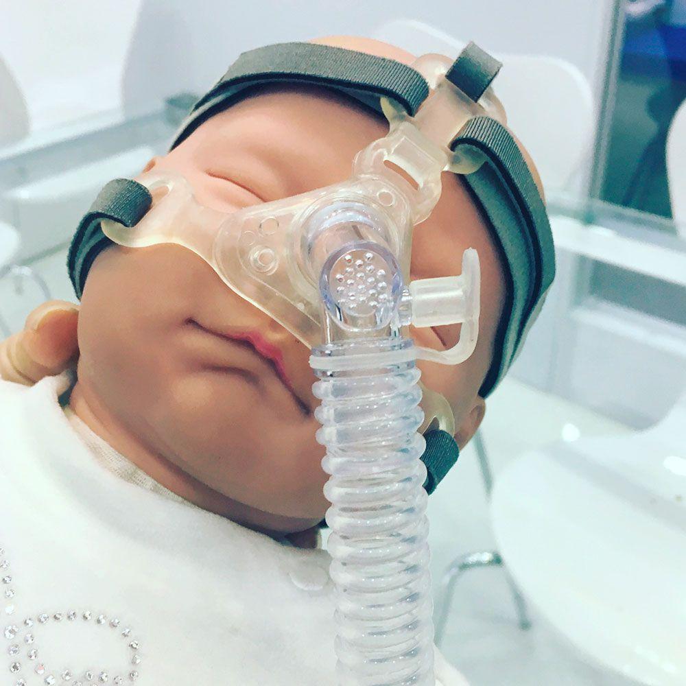 Máscara Pediátrica Respireo SOFT Baby - Air Liquide