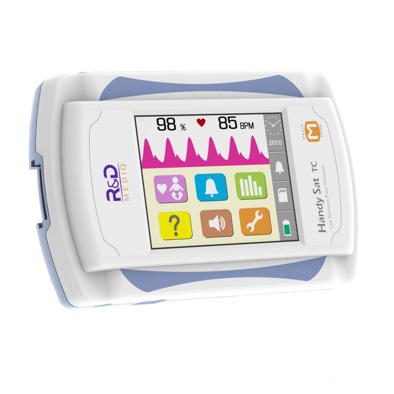 Oxímetro de pulso portátil Handy Sat TC - R&D Mediq