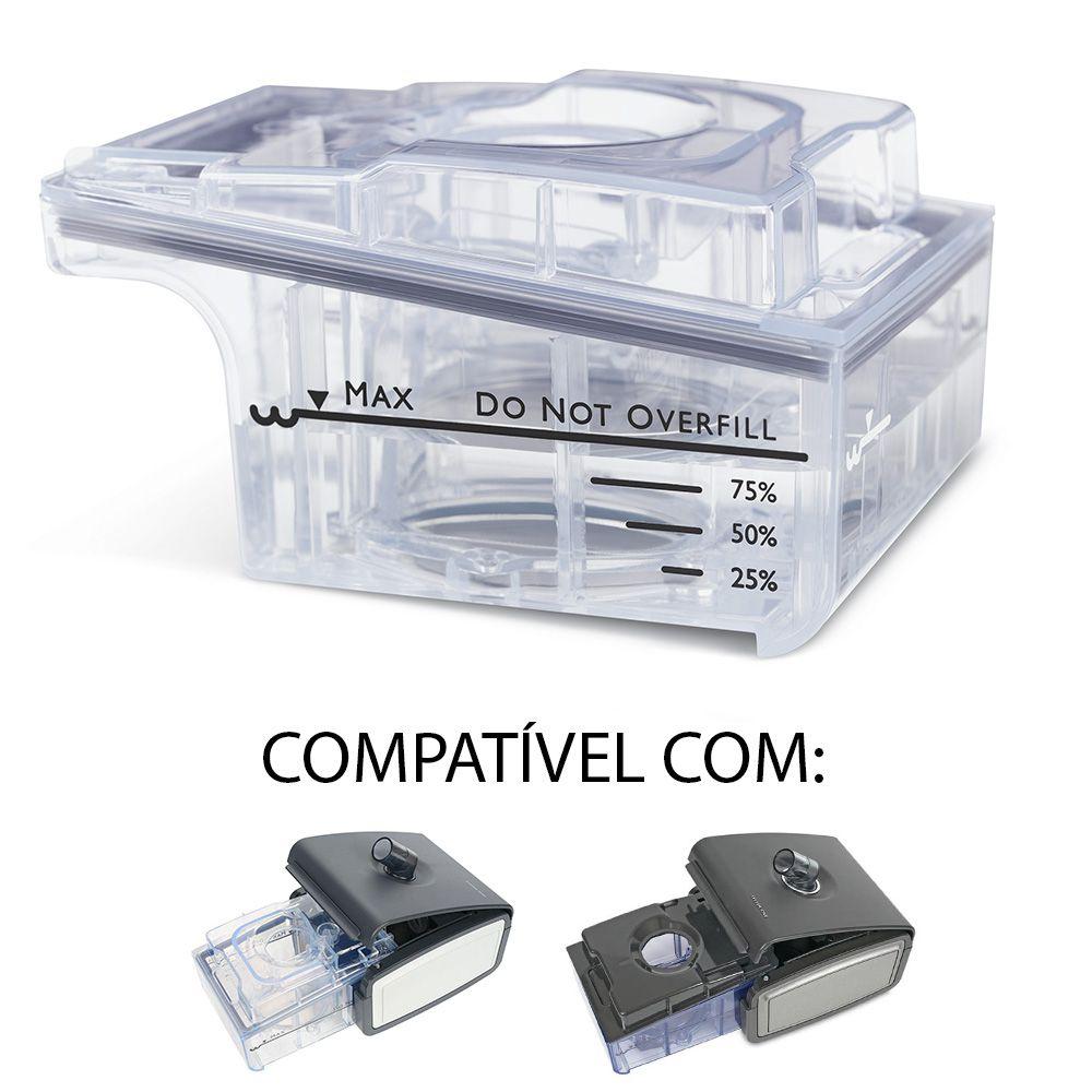 Reservatório (Câmara) de Água do Umidificador System One Serie 50 e 60 Philips Respironics