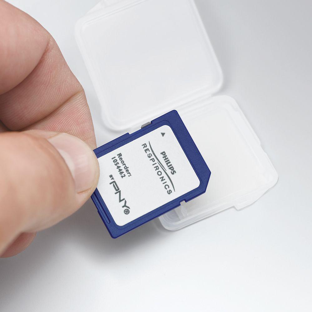 SD Card  (Cartão de Dados) - Philips Respironics