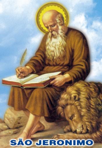 Oração de São Jeronimo - Milheiro de Santinhos | Santinhos Unidos Pela Fé