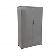 Armário de aço CA 1500 com 2 portas cinza chapa 26