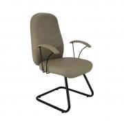 Cadeira base fixa diretor Verona com braço
