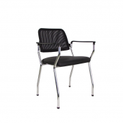 Cadeira base fixa NewNet 16007 pé palito cromado
