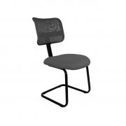 Cadeira base fixa secretaria Tela sem braço pé contínuo