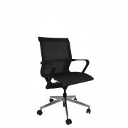Cadeira Cavaletti Aura executiva com mecanismo auto-regulável
