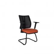 Cadeira diretor fixa Addit Tela e braço regulável