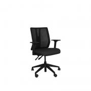 Cadeira diretor giratória Addit Tela braço regulável e Backsystem