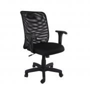 Cadeira diretor giratória Tela braço regulável