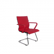 Cadeira Fixa Cromada Diretor Itallian