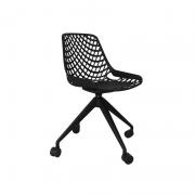 Cadeira giratória Beau Design em Plástico PP