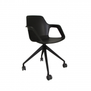Cadeira giratória Beau em Plástico PP