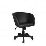 Cadeira giratória Concha Premium base aço capa