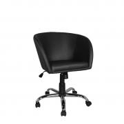 Cadeira giratória Concha Premium cromada