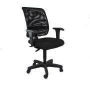 Cadeira giratória executiva back system Tela com braço