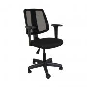 Cadeira giratória executiva Flip Light Tela 43503 base Aço Capa