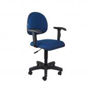 Cadeira giratória executiva Mix com braço regulável