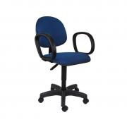 Cadeira giratória executiva Mix com lâmina e braço corsa