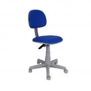 Cadeira giratória secretária Plus em courino