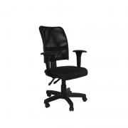 Cadeira Giratória Soul Executiva com braço regulável e Backsystem