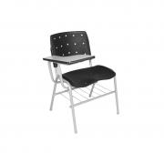 Cadeira universitária Ergoplax com prancheta direita