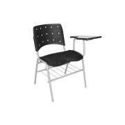 Cadeira universitária Ergoplax com prancheta esquerda
