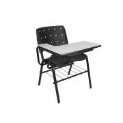 Cadeira universitária Ergoplax com pranchetão direita