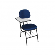 Cadeira universitária secretária Plus com prancheta direita
