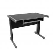 Conjunto mesa Light 1,20 x 0,60 com gaveteiro fixo e teclado retrátil