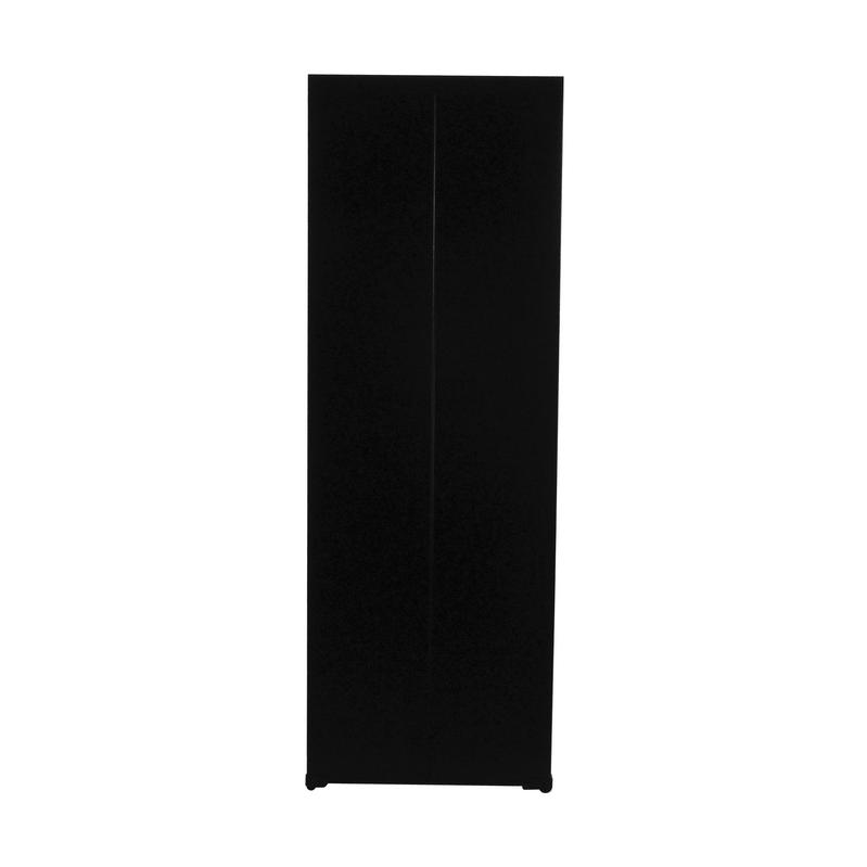 Arquivo de aço preto com 4 gavetas e carrinho Microesfera chapa 26