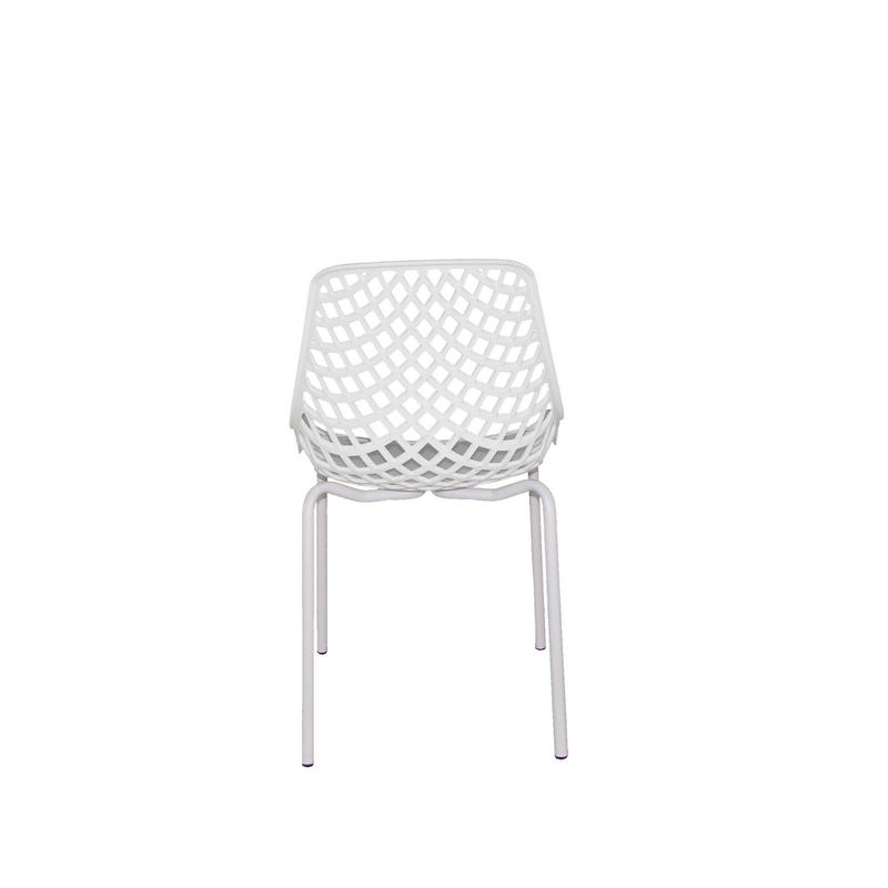 Cadeira base Fixa Beau Design plástica PP