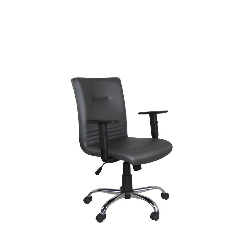 Cadeira Giratória Diretor Athena com Relax, Braço Regulável e Estrela cromada