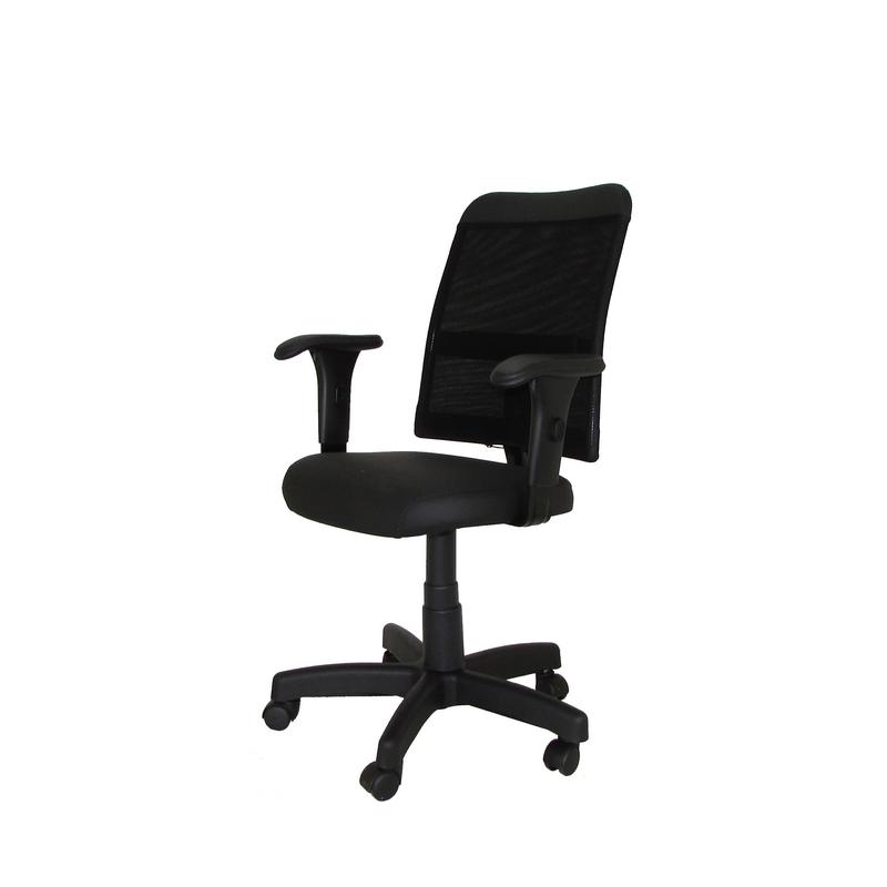 Cadeira giratória executiva Tela STF com braço regulável