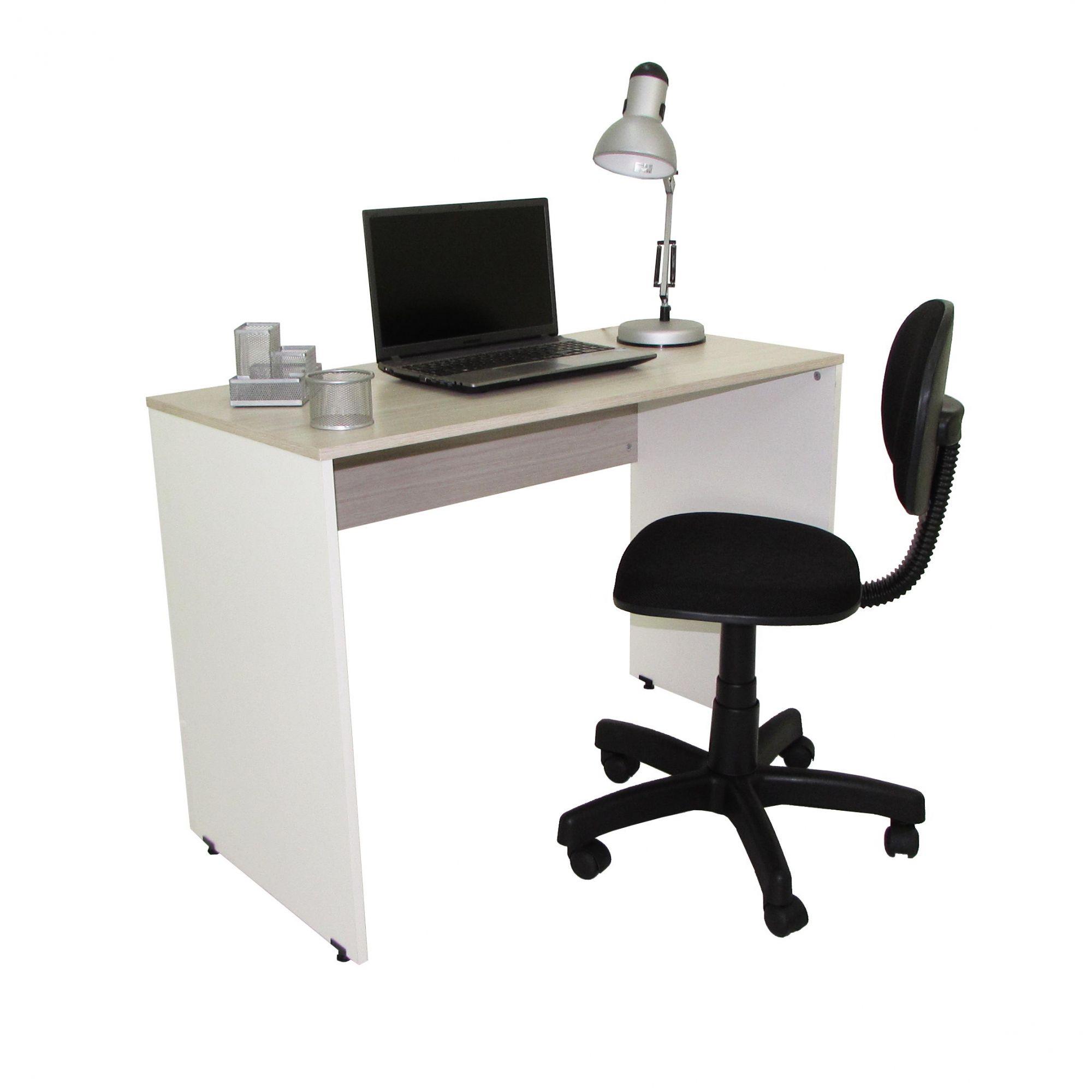Conjunto Home Office mesa 1,00 e cadeira giratória
