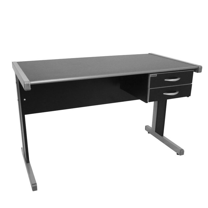 Conjunto mesa Light 1,20 x 0,60 com gaveteiro fixo