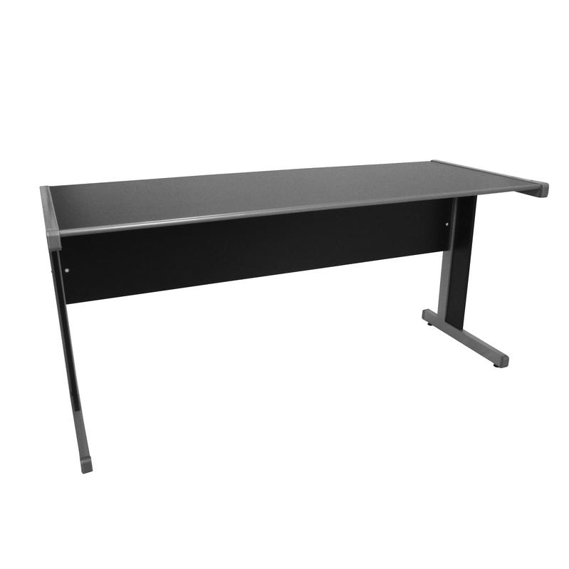 Conjunto mesa Light 1,60 x 0,60 com gaveteiro fixo