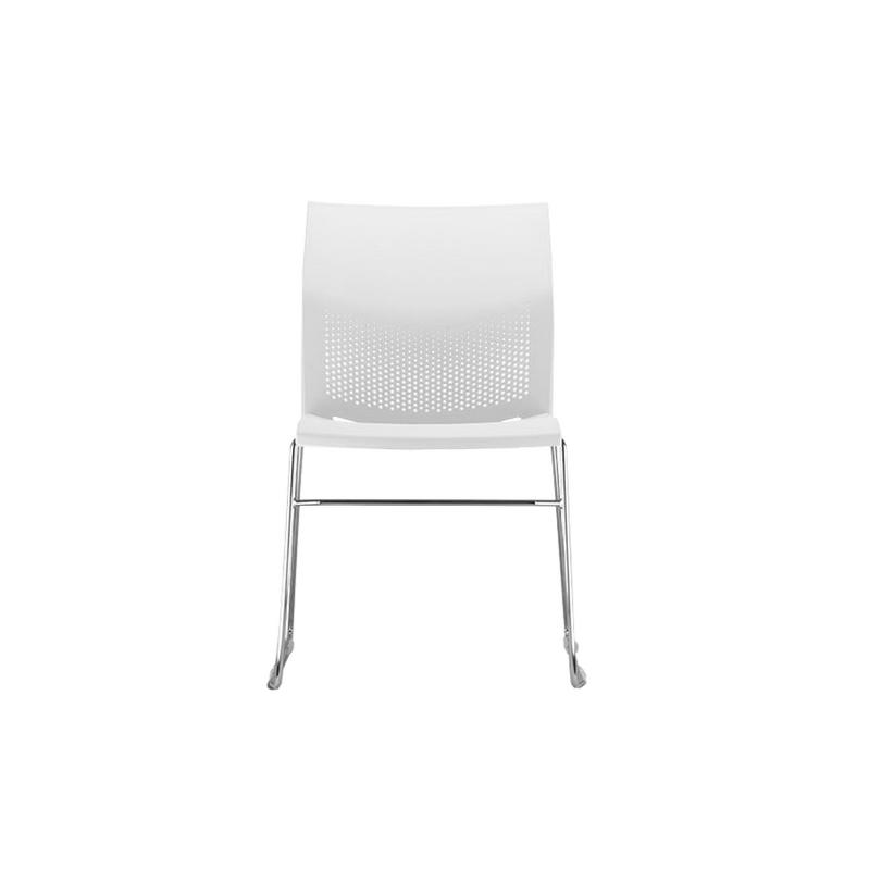 Kit com 4 cadeiras base fixa Connect