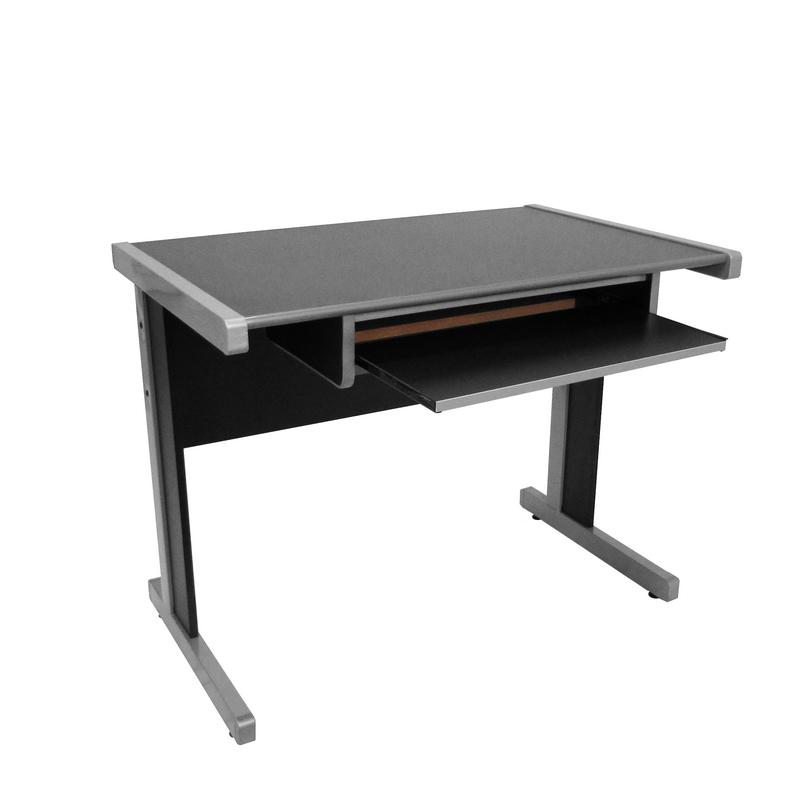Mesa de escritório 0,96 com teclado linha Light